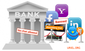 Banks ban chats bloomberg twitter
