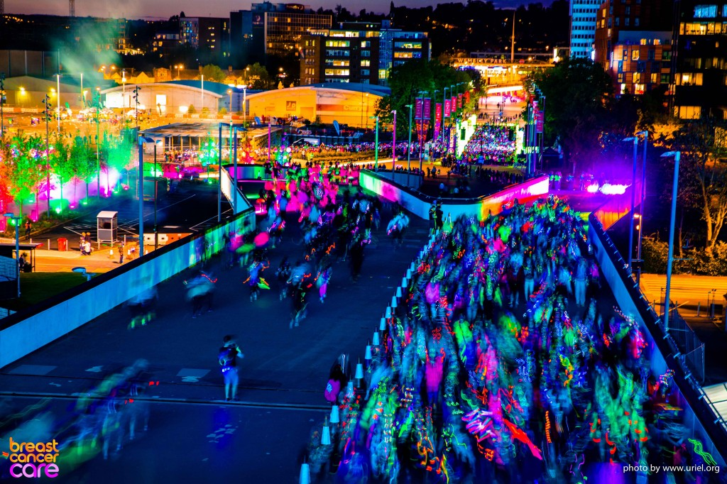 Electric Run lights colors stream