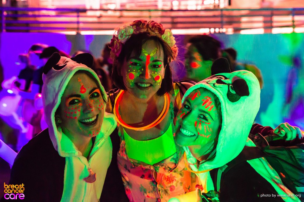 Electric Run panda girls