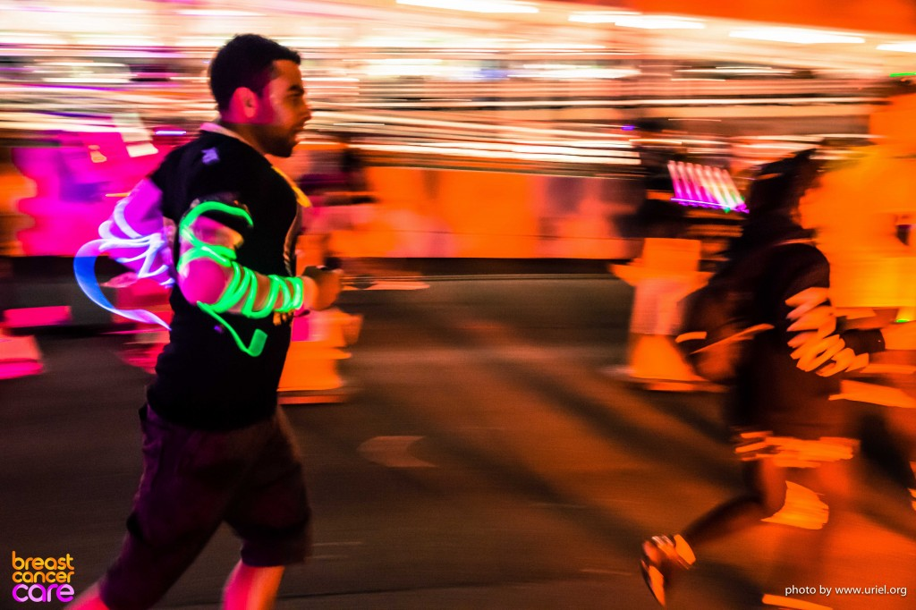 Electric Run running man