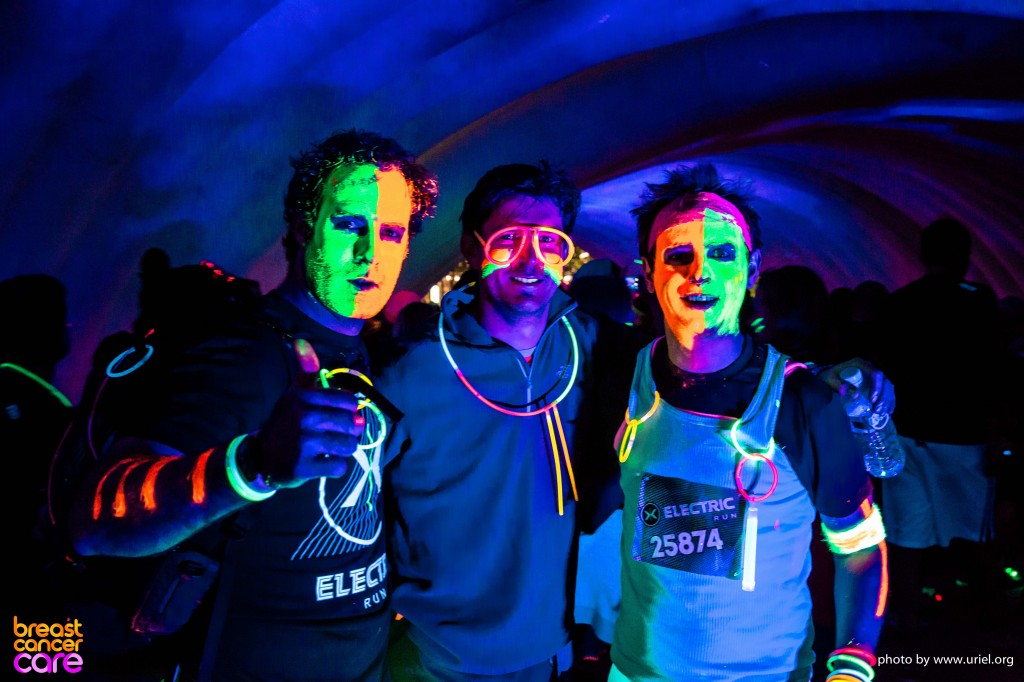 Electric Run men faces