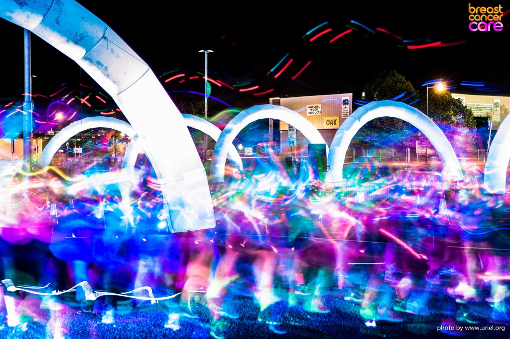 Archs Electric Run Colors Lights