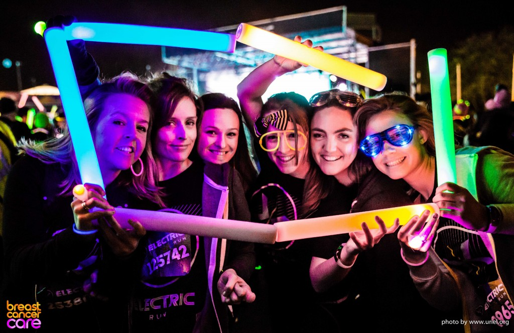 Electric Run color frame