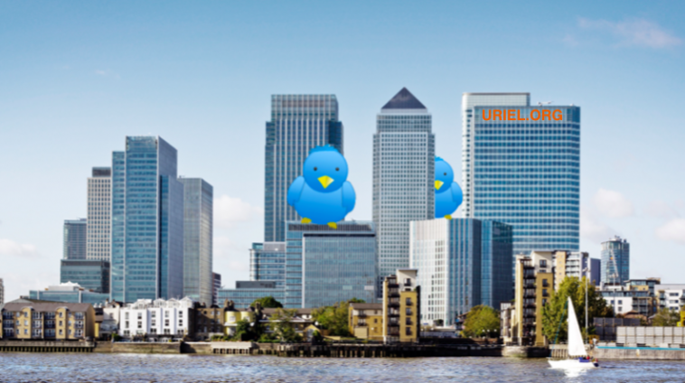 Twitter Financial Services Canary Wharf